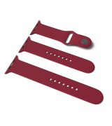 Спортивный ремешок Sport Band для Apple Watch 42/44mm S/M&M/L 3pcs Bordo