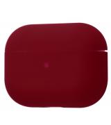 Чехол Silicone Case Slim для Apple AirPods Pro Bordo