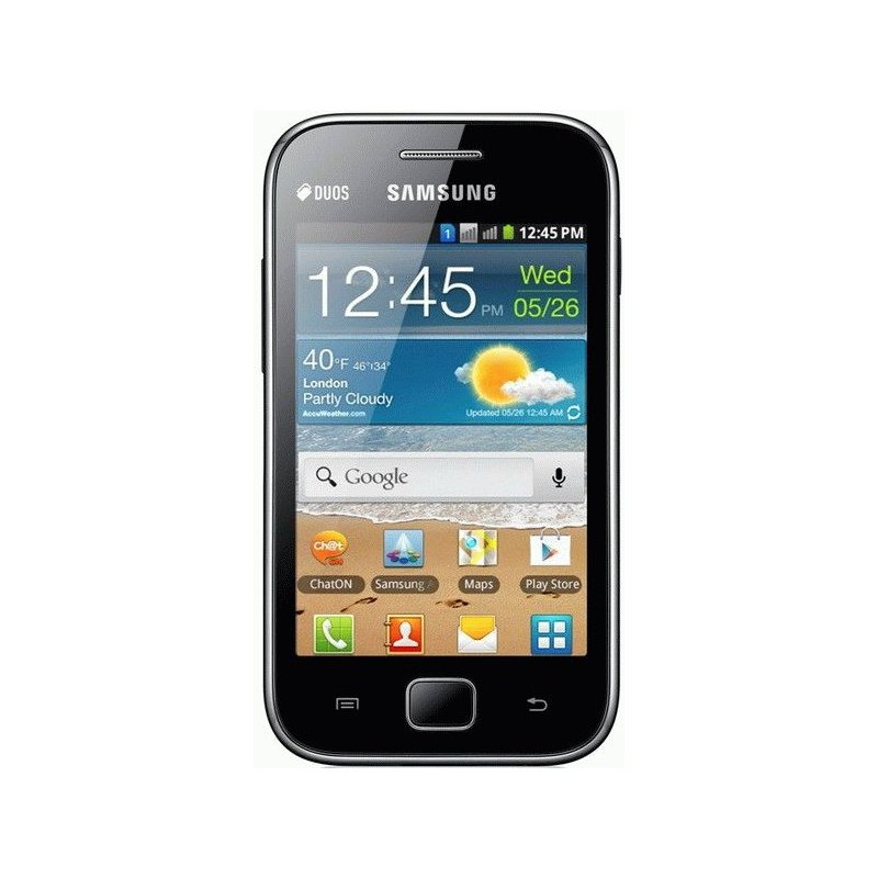 Samsung Galaxy Ace Duos S6802 Metallic Black