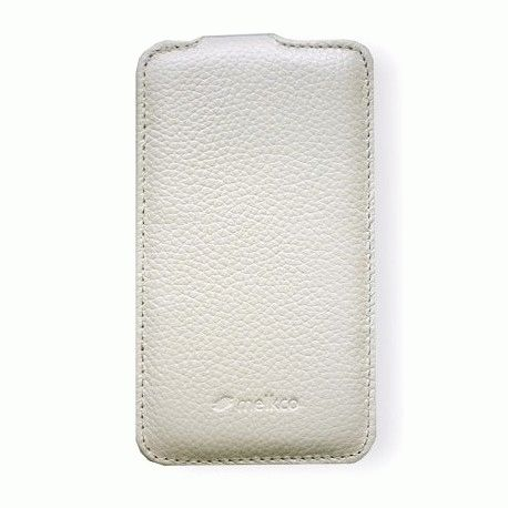 Кожаный чехол Melkco (JT) для Samsung Galaxy S i9070 White