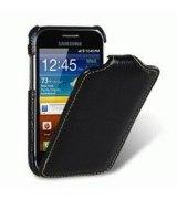 Кожаный чехол Melkco (JT) для Samsung Ace Plus S7500 Black