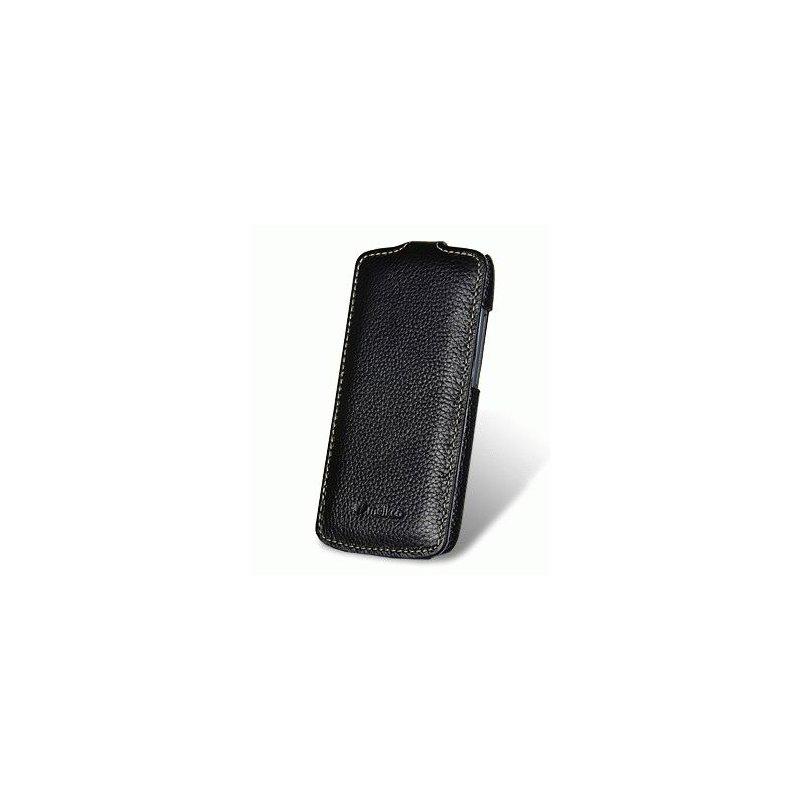 Кожаный чехол Melkco (JT) для HTC One S Z320e Black