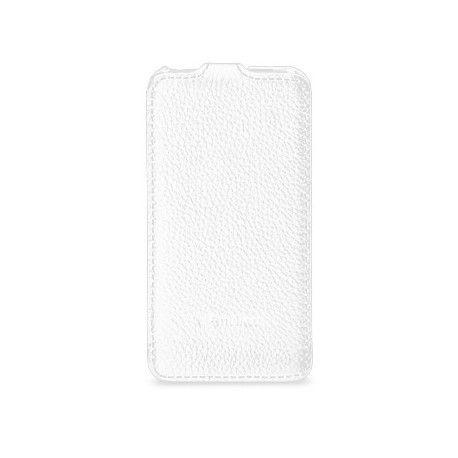 Кожаный чехол Melkco (JT) для HTC One V T320e White
