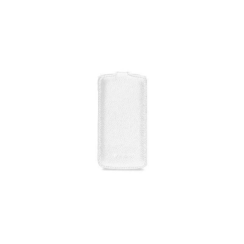Кожаный чехол Melkco (JT) для HTC One S Z320e White