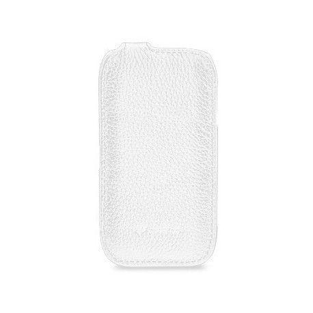 Кожаный чехол Melkco (JT) для Nokia Lumia 710 White