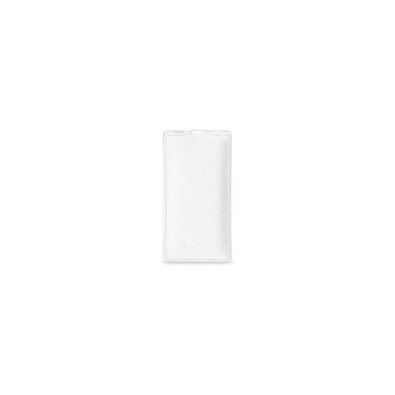 Кожаный чехол Melkco (JT) для Sony Ericsson XperiaS LT26i White