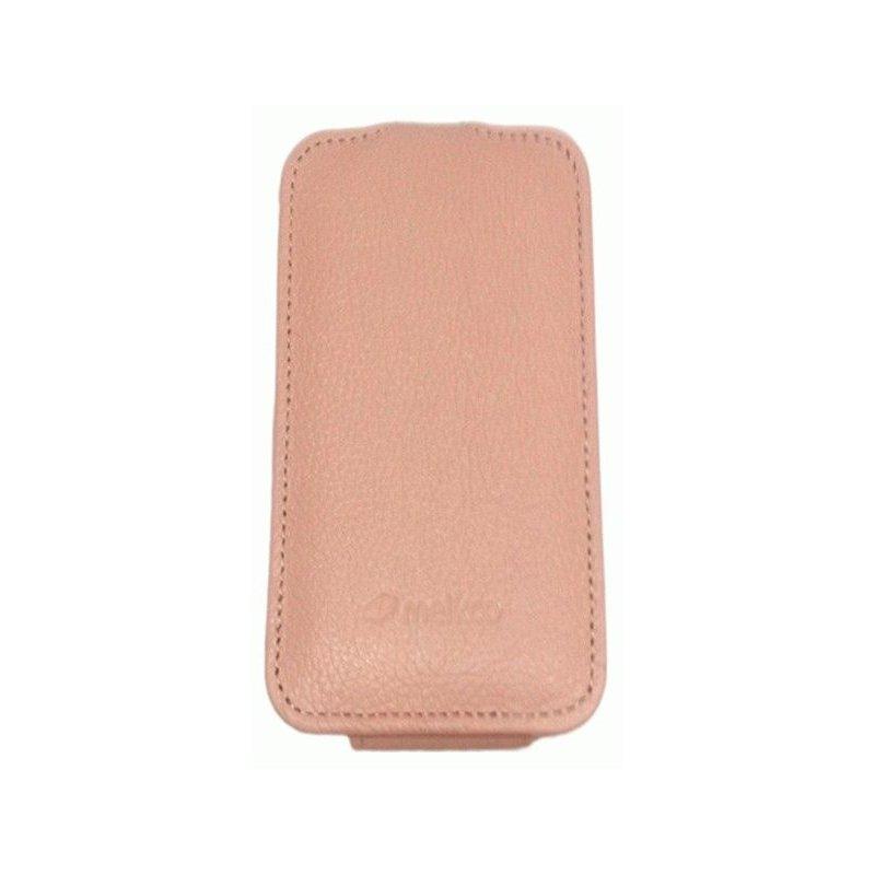 Кожаный чехол Melkco (JT) для HTC One V T320e Pink