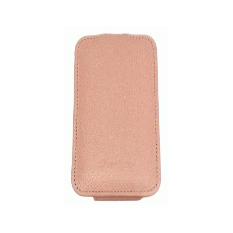 Кожаный чехол Melkco (JT) для HTC One S Z320e Pink