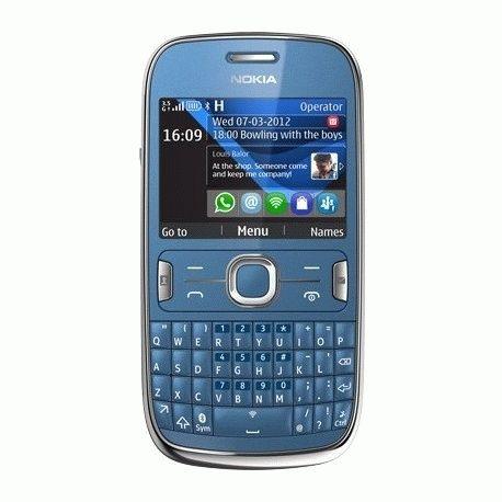 Nokia Asha 302 Mid Blue