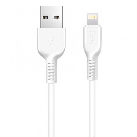 Кабель Hoco X20 Flash Lightning cable 2m White