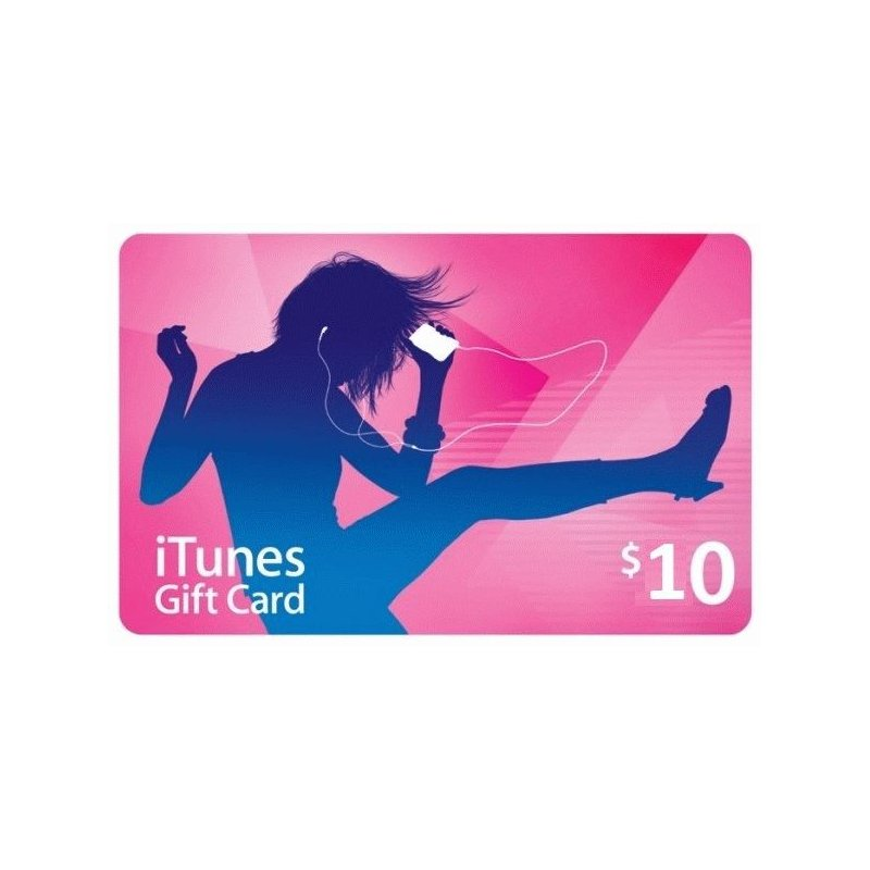 iTunes Gift Card 10$
