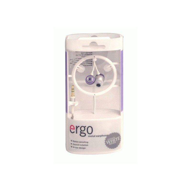 Наушники ERGO VT-12 White