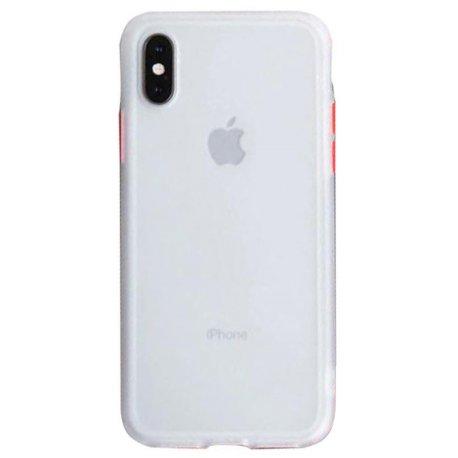 Чехол LikGus Maxshield Case для Apple iPhone X/XS Clear