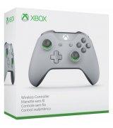 Беспроводной джойстик Microsoft Xbox One S Wireless Controller Grey/Green