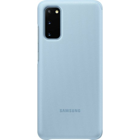 Чехол Clear View Cover для Samsung Galaxy S20 Sky Blue (EF-ZG980CLEGRU)