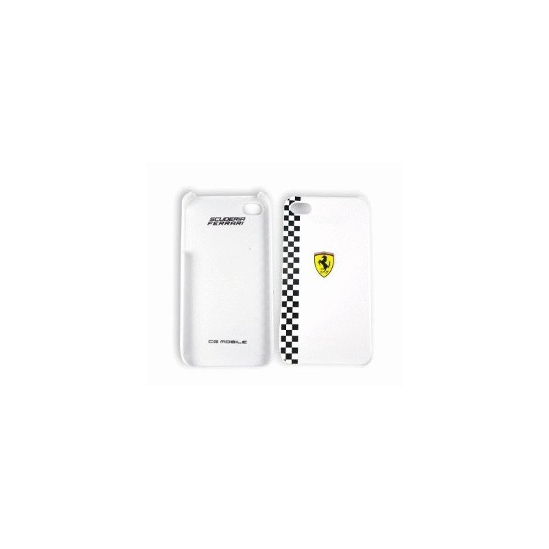 CG Ferrari Formula1 White накладка для iPhone 4/4S