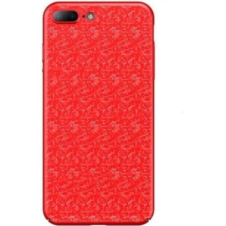 Baseus IPhone 7 Plus/8 Plus Plaid Case Red