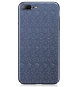 Baseus IPone 7 Plus/8 Plus Plaid Case Blue