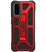 Накладка Urban Armor Gear Monarch (UAG) для Samsung Galaxy S20 Crimson