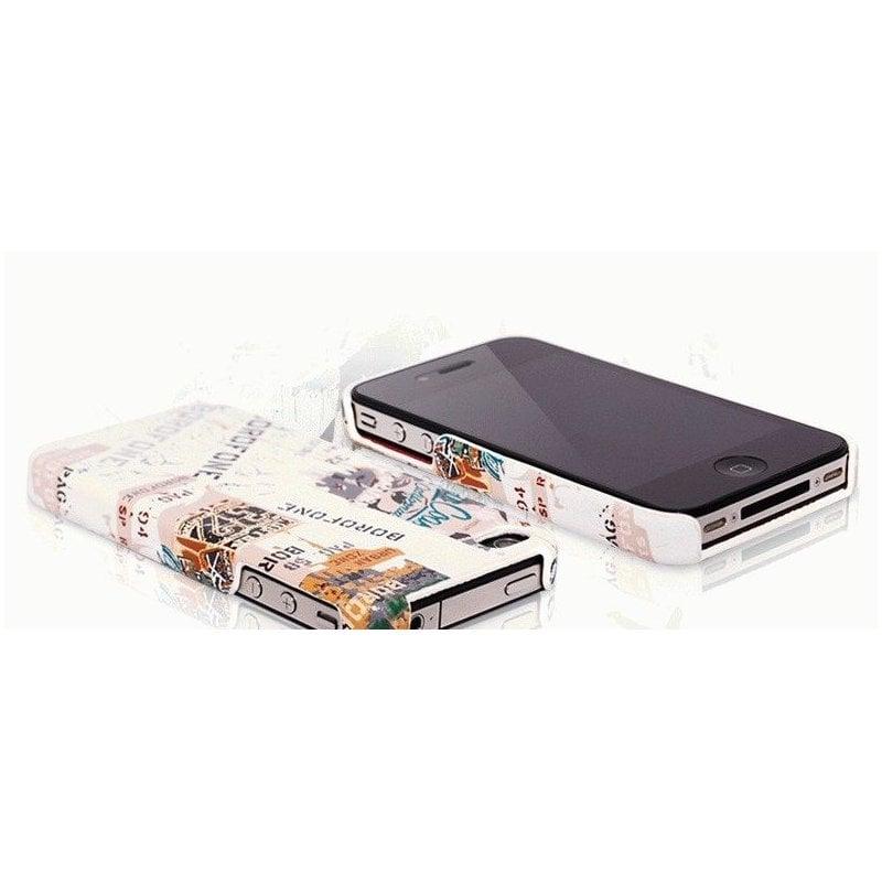 BOROFONE кожаная накладка для iPhone 4/4S