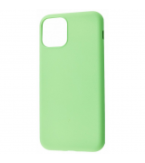 Чехол Silicon Cover IPhone 11 Pro My Colors Mint Gum