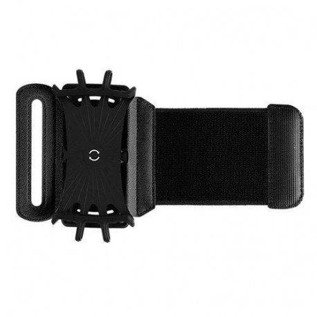 Спортивный чехол на запястье для телефона ROCK Universal Sports Wristband Black
