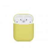 Wireless Case Ultra Slim Silicone для Airpods 2 Lemon Yellow