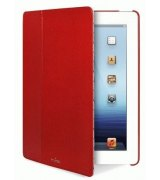 Чехол Puro iPad 2/3 Booklet Cover Red