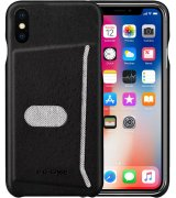 Чехол G-Case Jazz Series with Card Slot для Apple IPhone X Black