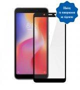 """Защитное стекло 5,45"""" 3D для Xiaomi Redmi 6 Black"""