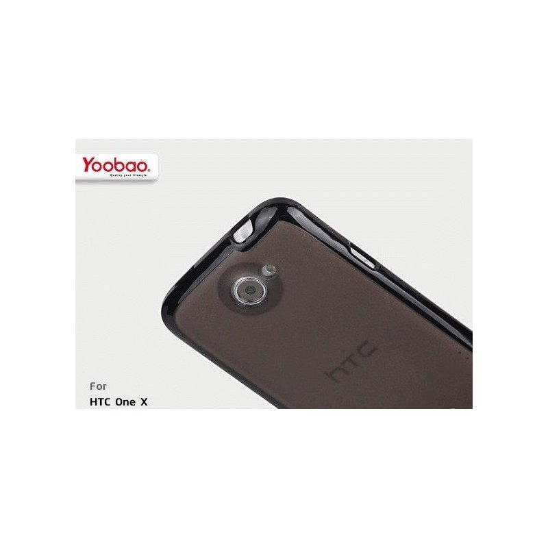 Yoobao накладка TPU Skin Cover для HTC ONE X S720e Black