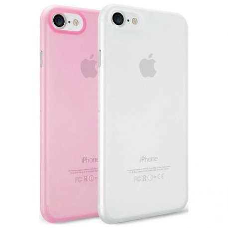 Чехол Ozaki O!coat 0.3 Jelly 2 in 1 case для Apple IPhone 7 Clear and Pink