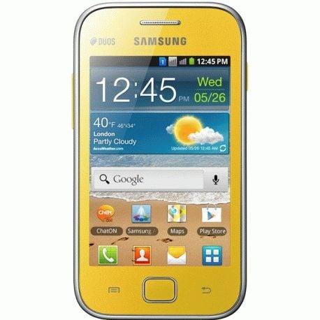 Samsung Galaxy Ace Duos S6802 Yellow