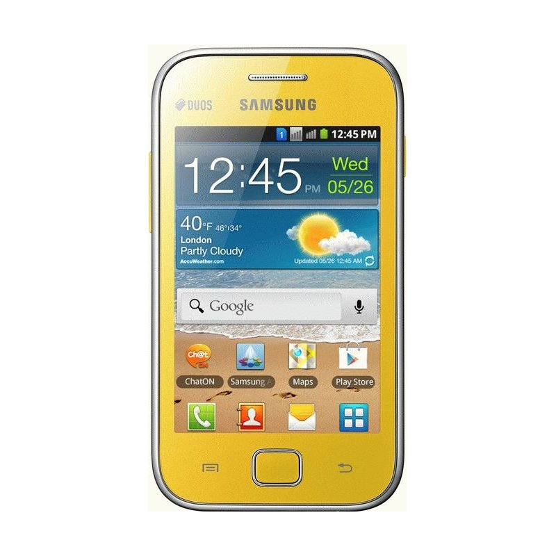 Samsung Galaxy Ace Duos S6802 Yellow