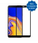 Защитное стекло 5D для Samsung Galaxy J4 Plus (2018) Black