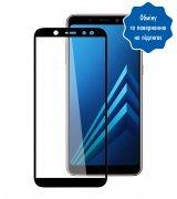 Защитное стекло 5D для Samsung Galaxy A7 (2018) Black