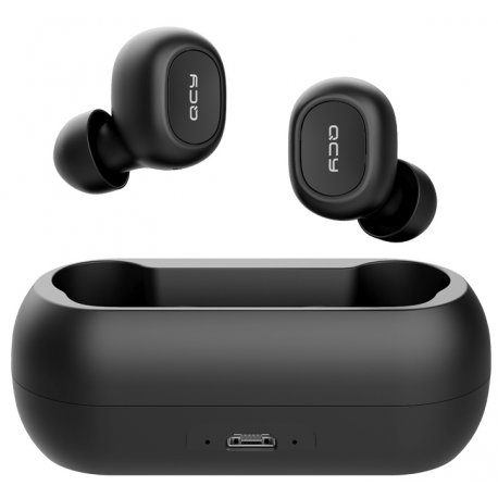 Bluetooth-гарнитура Xiaomi QCY T1 TWS Black