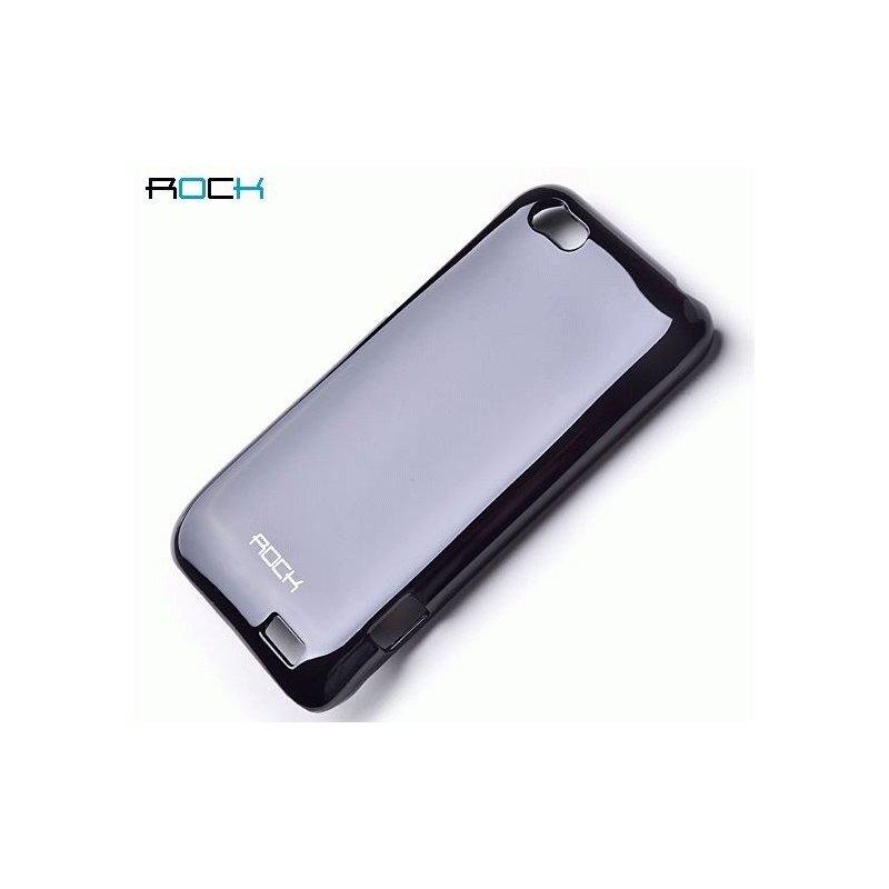 Пластиковая накладка ROCK Naked Color-full series для HTC One V T320e Black