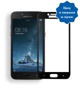 Защитное стекло 3D для Samsung Galaxy J2 Black