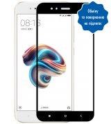 Защитное стекло 2D для Xiaomi Mi A1 Black