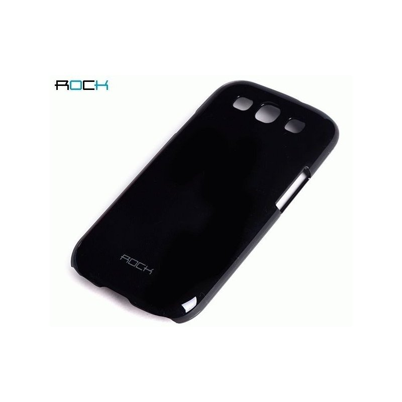 Пластиковая накладка ROCK Naked Color-full series для Samsung Galaxy S III i9300 Black