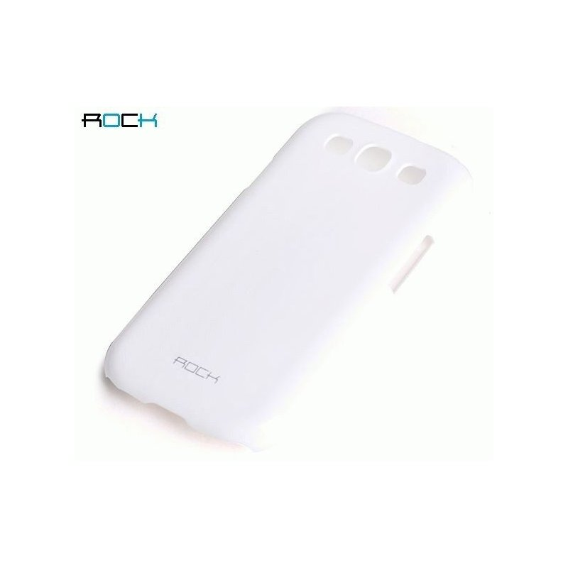 Пластиковая накладка ROCK Naked Color-full series для Samsung Galaxy S III i9300 White
