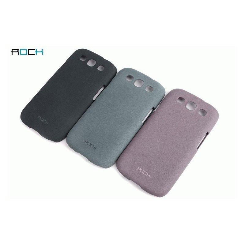 Пластиковая накладка ROCK Quicksand series для Samsung Galaxy S III i9300 Grey