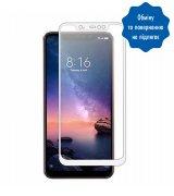 "Защитное стекло 6,26"" 5D для Xiaomi Redmi Note 6 White"