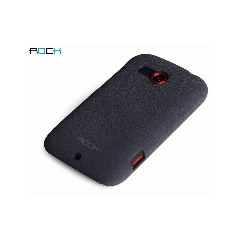 Пластиковая накладка ROCK Quicksand series для HTC Desire C A320e Grey