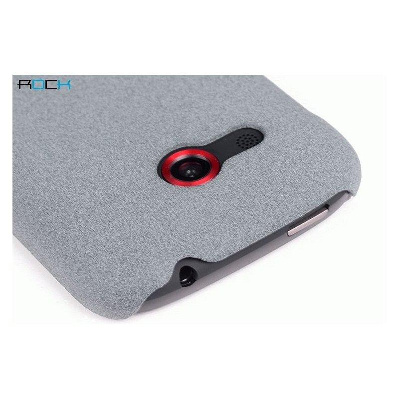 Пластиковая накладка ROCK Quicksand series для HTC Desire C A320e Light Grey
