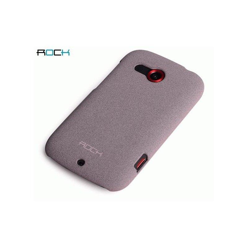 Пластиковая накладка ROCK Quicksand series для HTC Desire C A320e Purpul