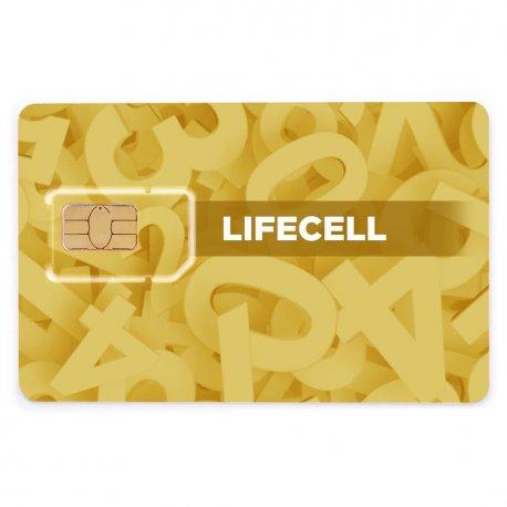 Красивый номер Life:) 093-25-40-222