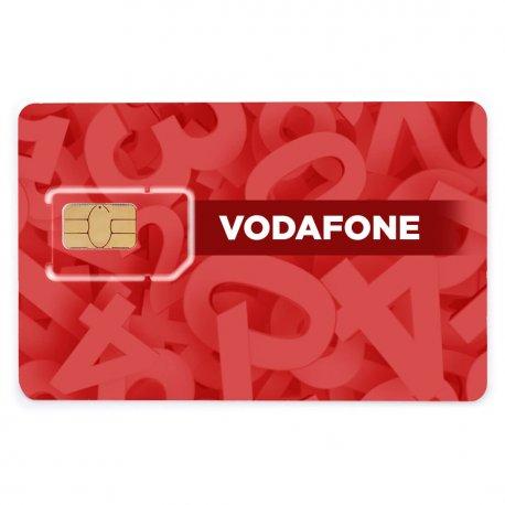 Красивый номер Vodafone XXX-555-55-59