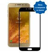 Защитное стекло 5D для Samsung Galaxy J4 (J400) Black